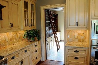 5-Adjacent pantry with sliding ladder